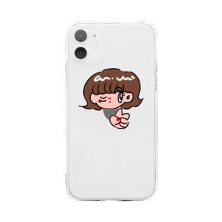 らぶあんどぴーーーす Soft clear smartphone cases