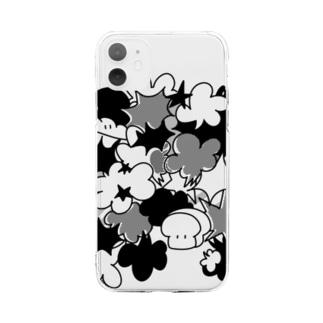マンガ風食パンちゃん Soft Clear Smartphone Case