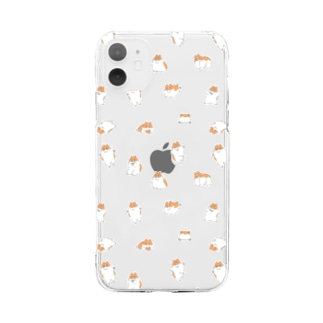 Good Boy Mailo ! ワラワラモチモチ Soft clear smartphone cases