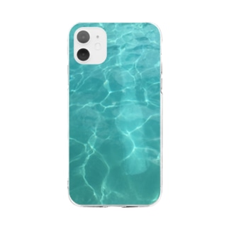 +POOL.POOL+ Soft clear smartphone cases
