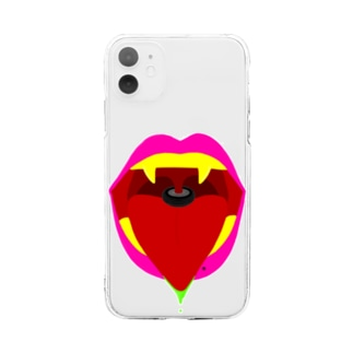 喉の違和感 口紅 金歯 八重歯 ホクロ ほくろ 車のタイヤ 派手 雑貨 服 衣類 小物 携帯カバー アイホンケース トップス キッズ 子供 女の子 男の子 男女共用 Soft clear smartphone cases