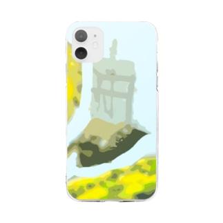 サン・ファン・バウティスタ Soft clear smartphone cases