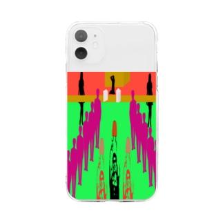 コミケの十戒と戦利品獲得 Soft clear smartphone cases