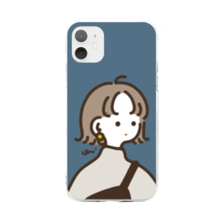 omecashi girl Soft clear smartphone cases