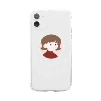 🍓 girl 【 iphone 11-11pro MAX 推奨 】 Soft clear smartphone cases