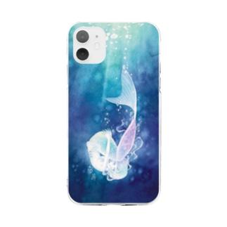 浸透 Soft Clear Smartphone Case