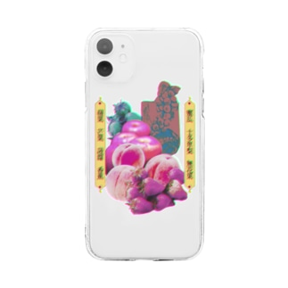 おかしな果物屋 Soft clear smartphone cases