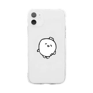 だいこん… Soft clear smartphone cases