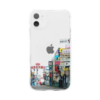 いい街並みのiPhoneケース(A) Soft clear smartphone cases