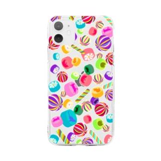 飴ちゃん クリアタイプ Soft clear smartphone cases