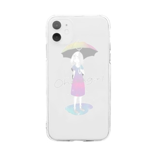 Raingirl Soft clear smartphone cases