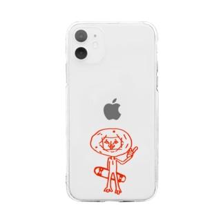 ムーンボーイスマホケース Soft clear smartphone cases