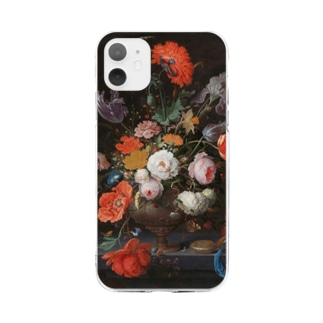 Still life with flowers and a watch Soft clear smartphone cases