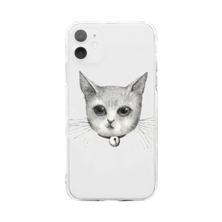 ArtSpringsのThe face Soft clear smartphone cases