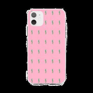 ののの。のメメメ。 Soft clear smartphone cases
