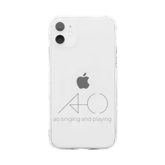 ao singing and playing Soft clear smartphone cases