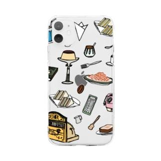 純喫茶 いろどり Soft clear smartphone cases