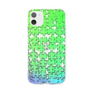 パズルスマホケース Soft clear smartphone cases