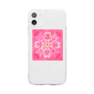 ワットウィーラブ Soft clear smartphone cases