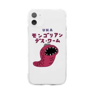 UMA モンゴリアン・デス・ワーム Soft clear smartphone cases