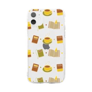 ドクショ Soft clear smartphone cases