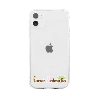 Parve Animalia Soft clear smartphone cases