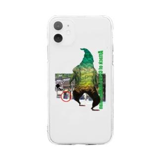 ゴム人間・タートルカンパニー Soft clear smartphone cases