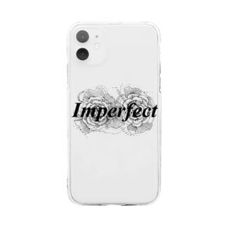 MAKOTO AOKIのImperfect2 Soft clear smartphone cases