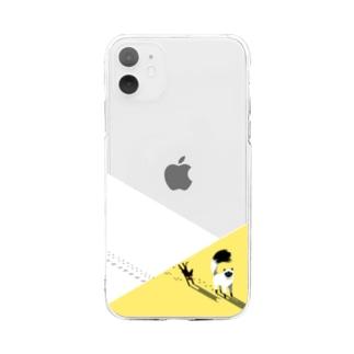 あるくねこ Soft clear smartphone cases