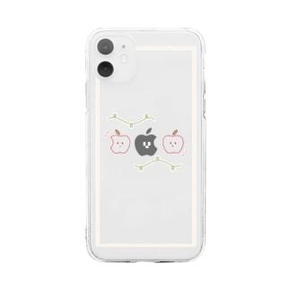 まちがいさがし。 Soft clear smartphone cases
