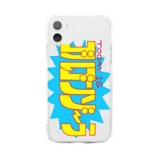 ゴルゴンゾーラ Soft clear smartphone cases