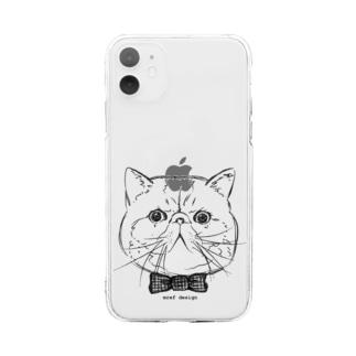 エキゾチックショートヘア君 Soft Clear Smartphone Case