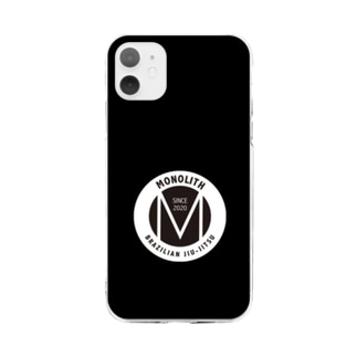 MONOLITH(モノリス)グッズ Soft clear smartphone cases