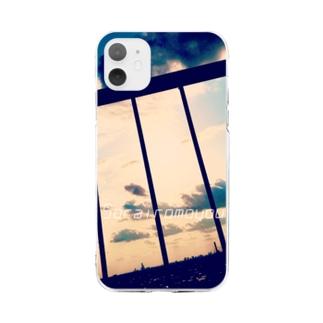 ソライロ4 Soft clear smartphone cases