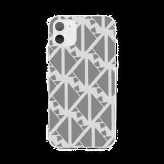気ままに創作 よろず堂のサーヴィエ行進曲 燻銀 Soft clear smartphone cases