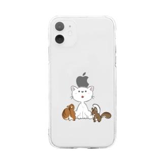 バランス大会 Soft clear smartphone cases