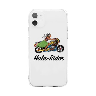 Hula-Rider Soft clear smartphone cases