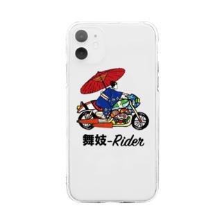 舞妓-Rider Soft clear smartphone cases