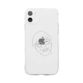 中西くん Soft clear smartphone cases