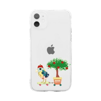 ROBOBOロボボ りんご屋さん Soft clear smartphone cases