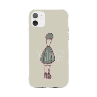 JEFF Soft clear smartphone cases