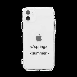 Fummy GoodsのHTML風 ソフトクリアスマホケース Soft clear smartphone cases