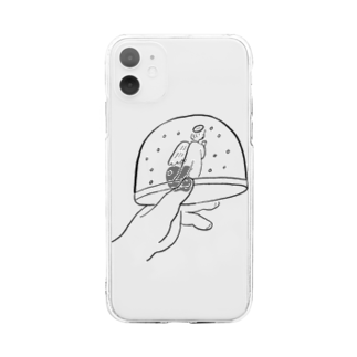 oyasmurの Bell Soft clear smartphone cases