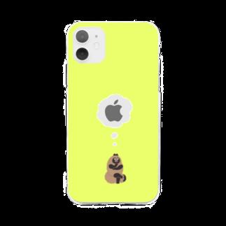パンタグラフのponpoco Soft clear smartphone cases