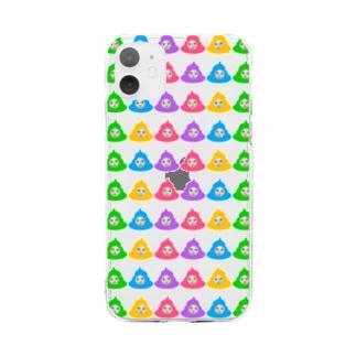 ウンコシリーズ Soft clear smartphone cases