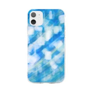 サファイアみたいな Soft clear smartphone cases