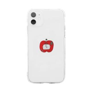 りんごはあっぷる Soft clear smartphone cases