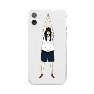 好きなもの倶楽部の東京タワー Soft clear smartphone cases