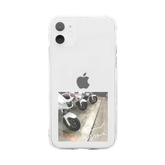 オタクはすぐに写真を撮るなよ Soft clear smartphone cases