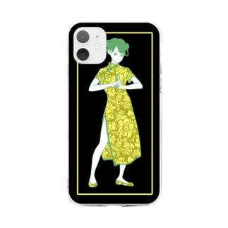カンフーガール(11用) Soft Clear Smartphone Case